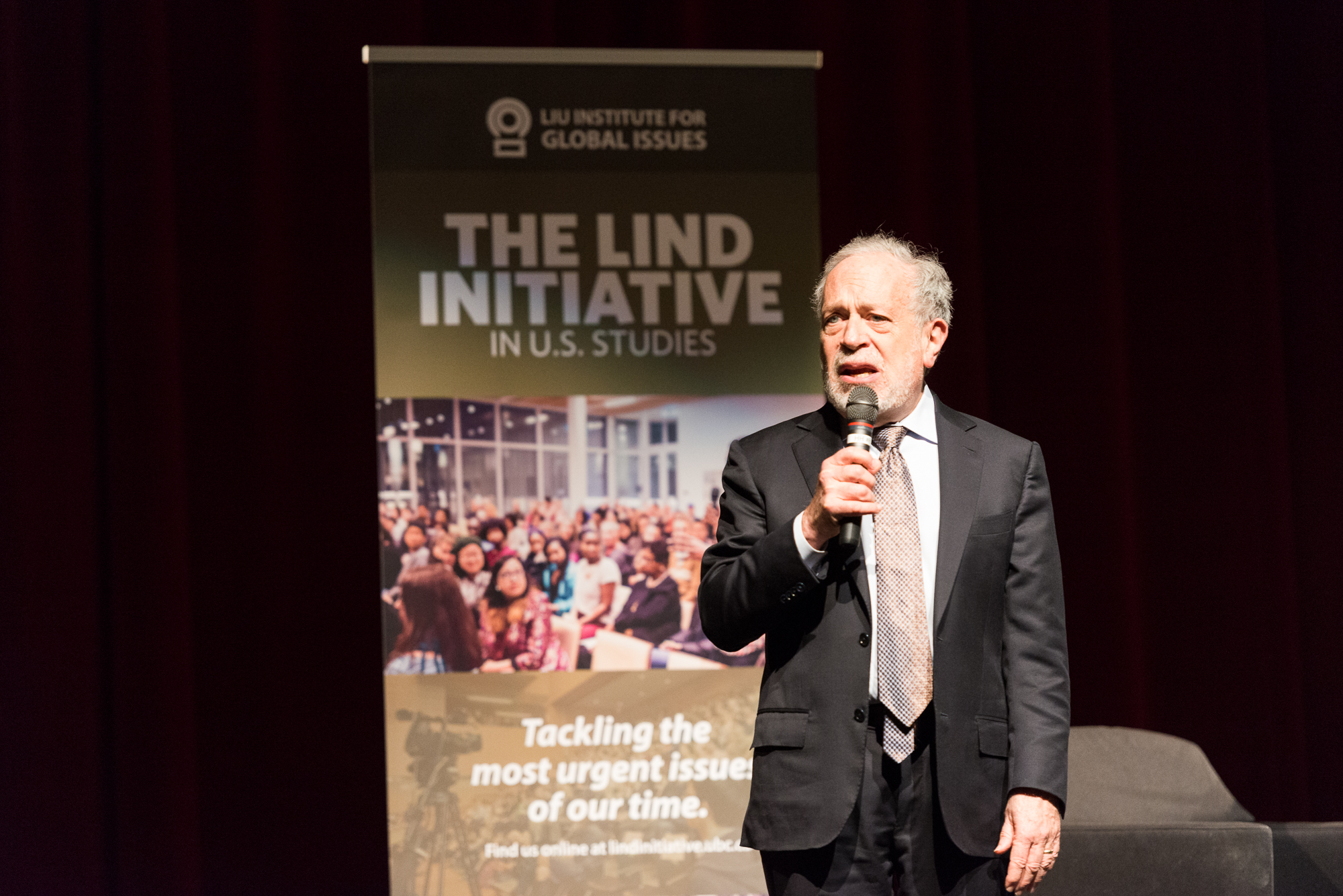 Lind Initiative 2017 – Robert Reich on the Rise of the Anti-Establishment