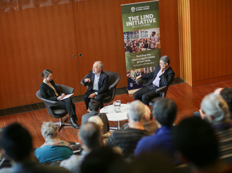 Robert Reich in Conversation with Professors Cristie Ford and Wei Cui, Centre for Business Law