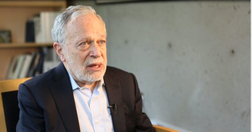 Interview with Professor Robert Reich
