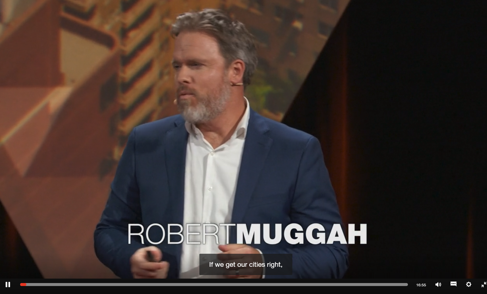TED Talk by Robert Muggah on The Biggest Risks Facing Cities — and Some Solutions