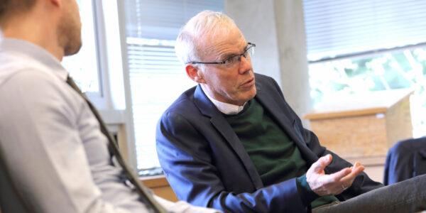 Bill McKibben in Lind Seminar
